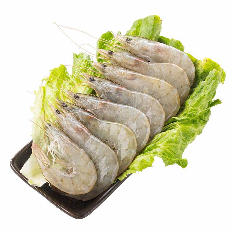 海里仙厄瓜多尔南美白对虾1.8kg(50-60只/包)