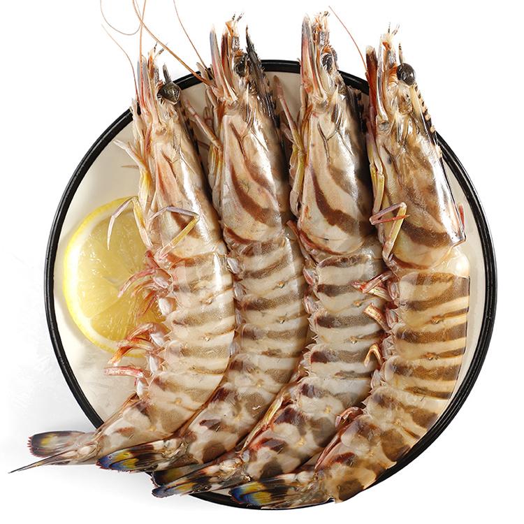 舟山野生竹节虾(8-10头)400g/袋