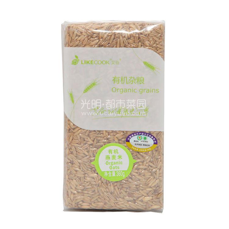 艾谷 东北有机杂粮 燕麦米360g