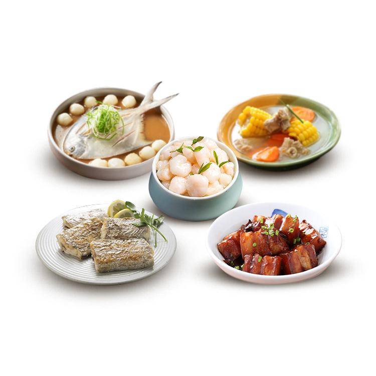 2019春季套餐 558猪肉海鲜