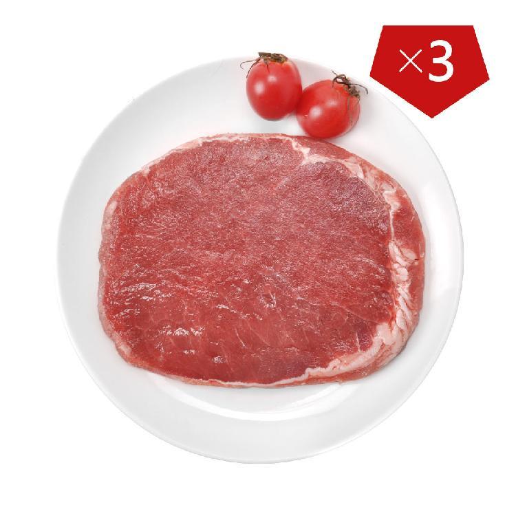 都市菜园 西冷牛排 3片装(150g*3)