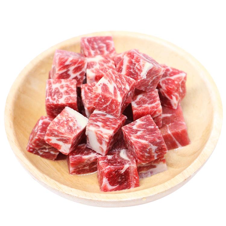 澳美客 澳大利亚和牛M8-9雪花牛肉粒200克