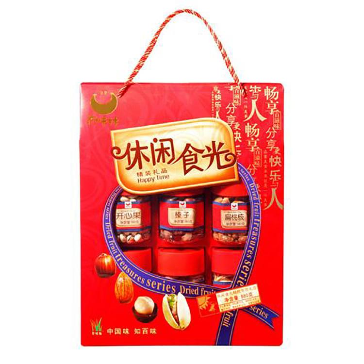 """百味林休闲""""食""""光礼盒880g"""