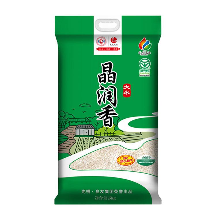 新米 光明米业 崇明晶润香米 5kg/袋