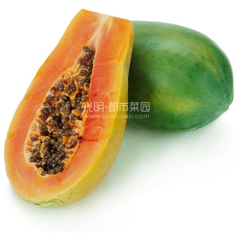 海南红心木瓜4.5kg装