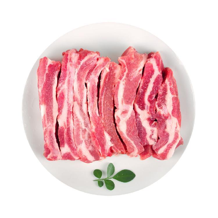 猪状元上海 黑毛土猪肉肋排 500g