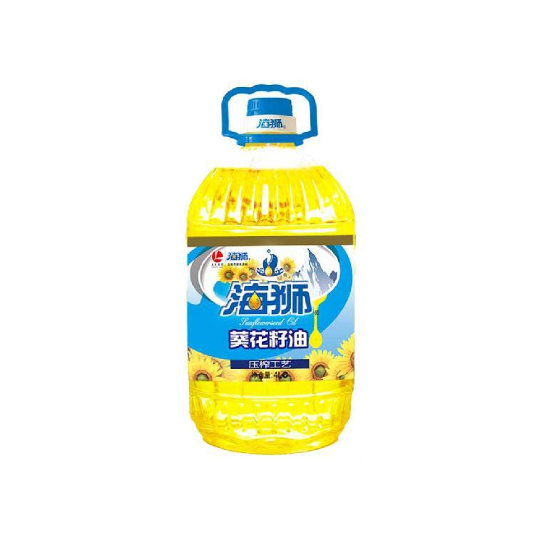 海狮 葵花籽油 4L