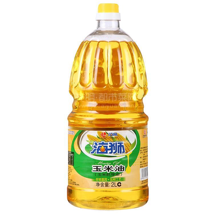 海狮 玉米油(玉米胚芽油)2L