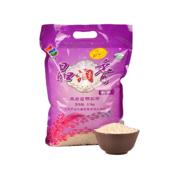 光明米业 崇明 晶润香大米 2.5KG