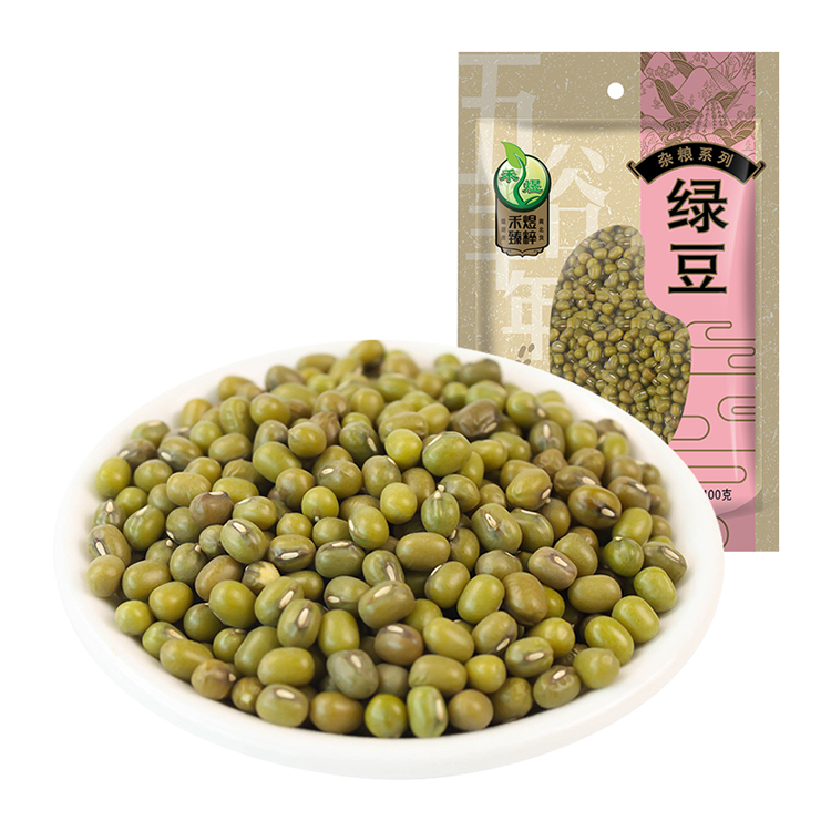 禾煜 精选绿豆400g 五谷杂粮煮粥