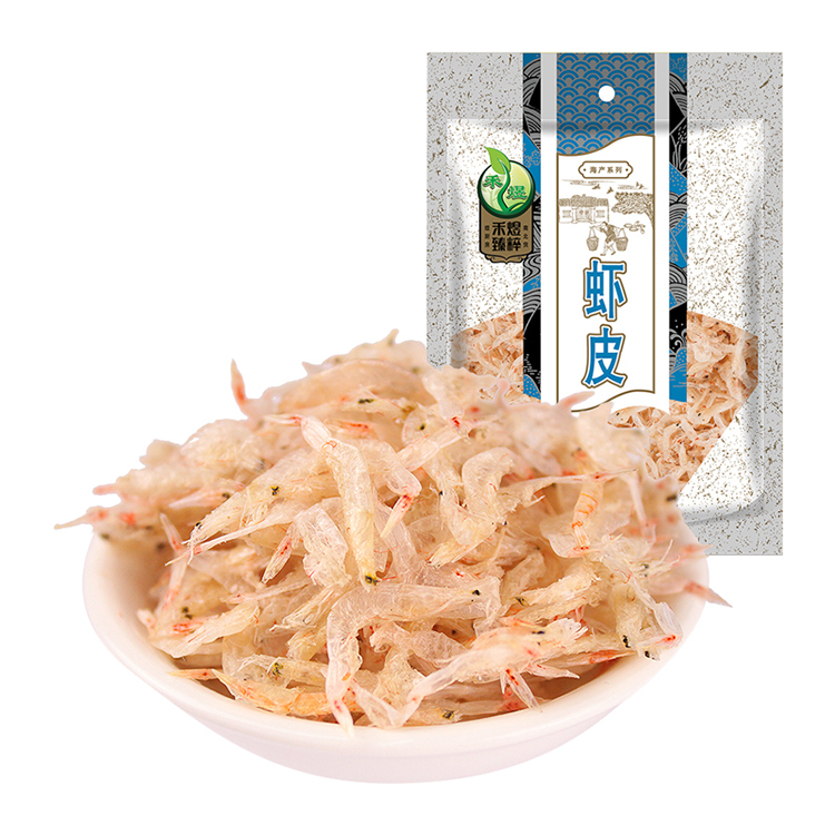 禾煜 精品虾皮80g 新鲜海货 补钙佳品