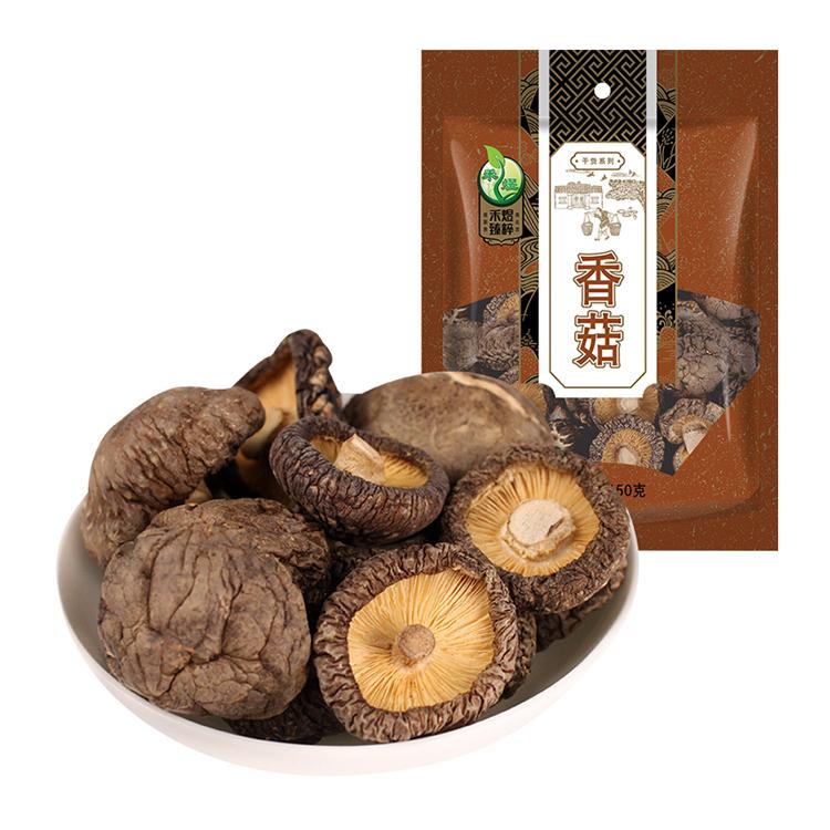 禾煜 福建宁德香菇150g 肉厚味香