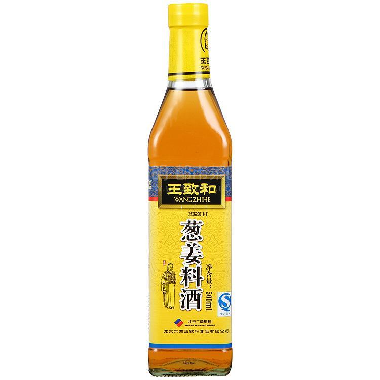 王致和 葱姜料酒 500ml