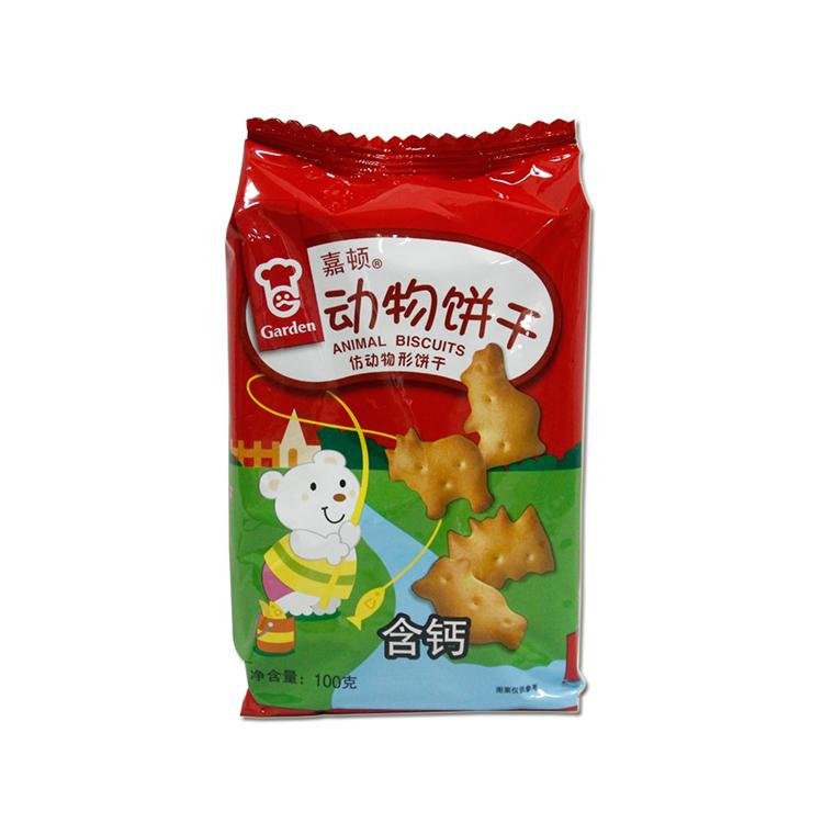 嘉顿 动物饼干(含钙)100g