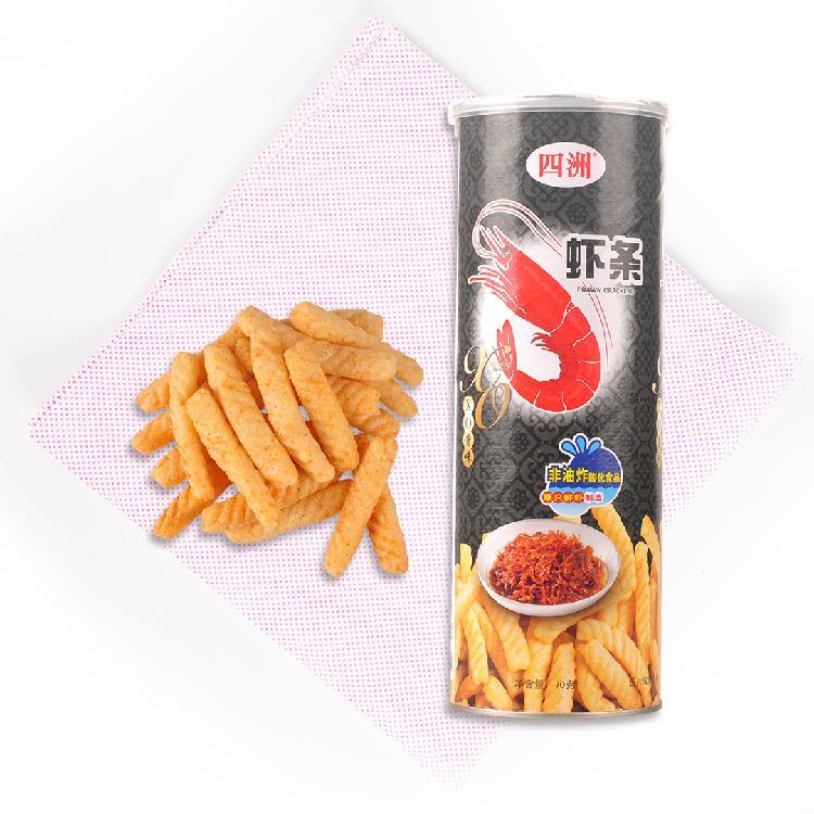 四洲 XO酱味虾条 70g