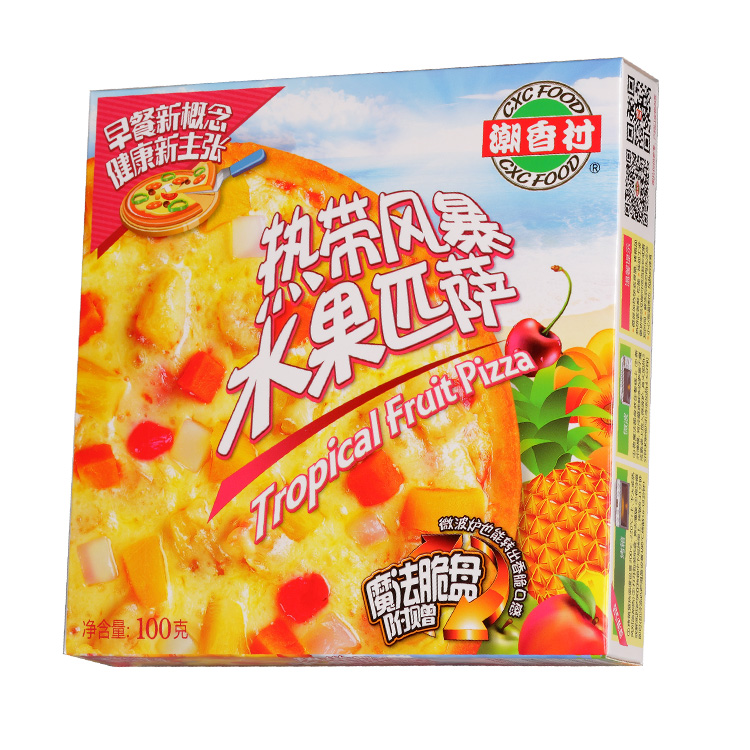 潮香村 热带风暴水果匹萨 100g
