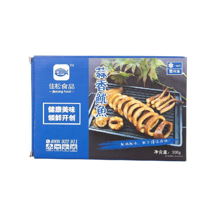 佳松 蒜香鱿鱼 300g/盒