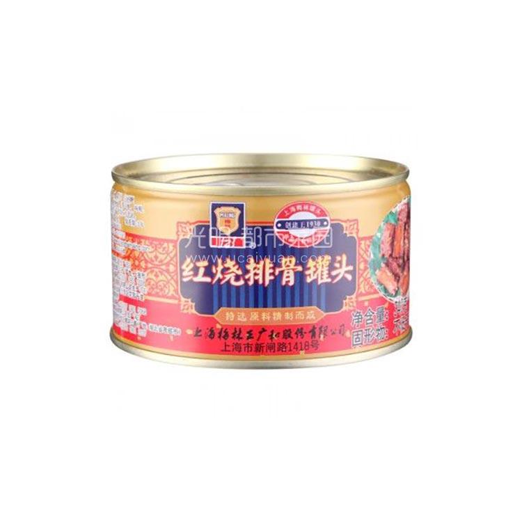 光明食品 梅林 红烧排骨 340g