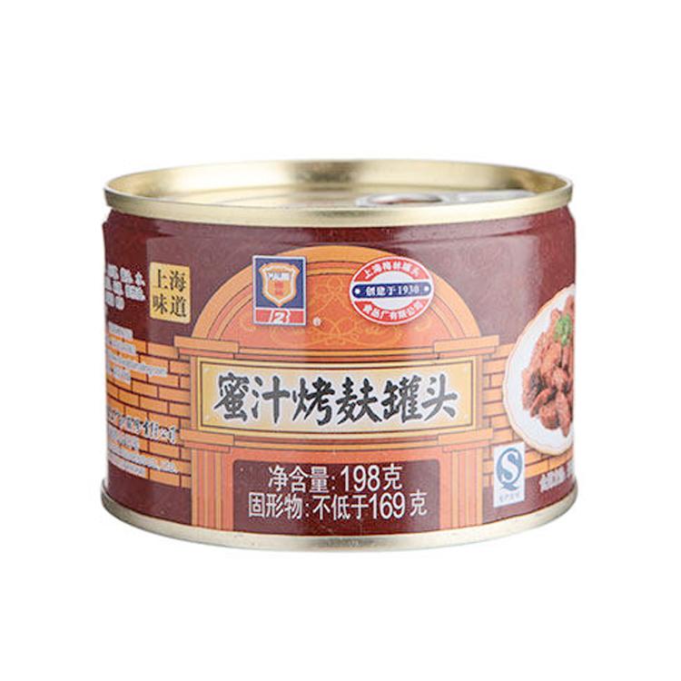 光明食品 梅林 蜜汁烤麸 198g