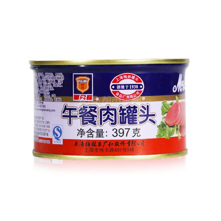 光明食品 梅林 午餐肉 397g