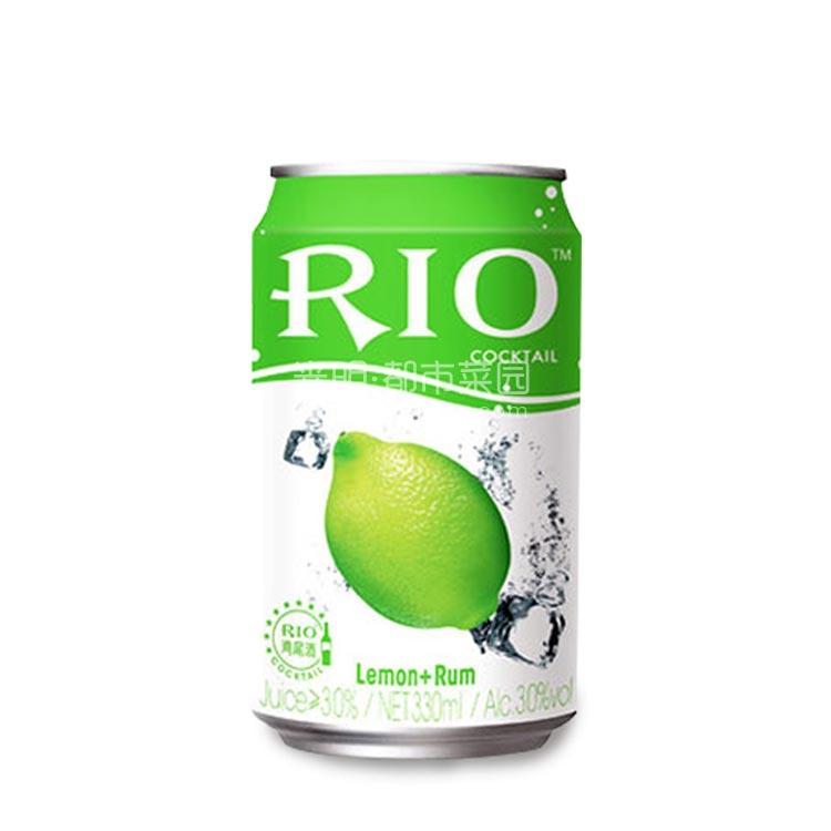 锐澳Rio 柠檬味朗姆鸡尾酒(预调酒)330ml