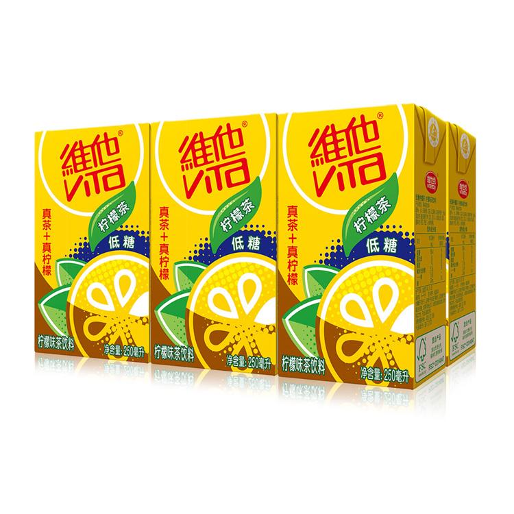 维他奶 柠檬味茶饮料 250ml*6