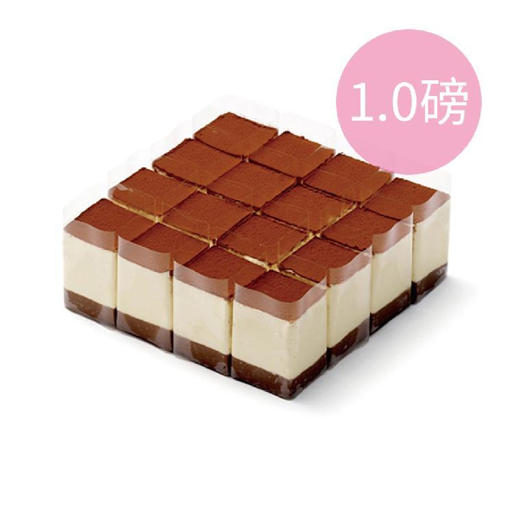 【3-4人份】21cake廿一客 黑白巧克力慕斯蛋糕/1.0磅