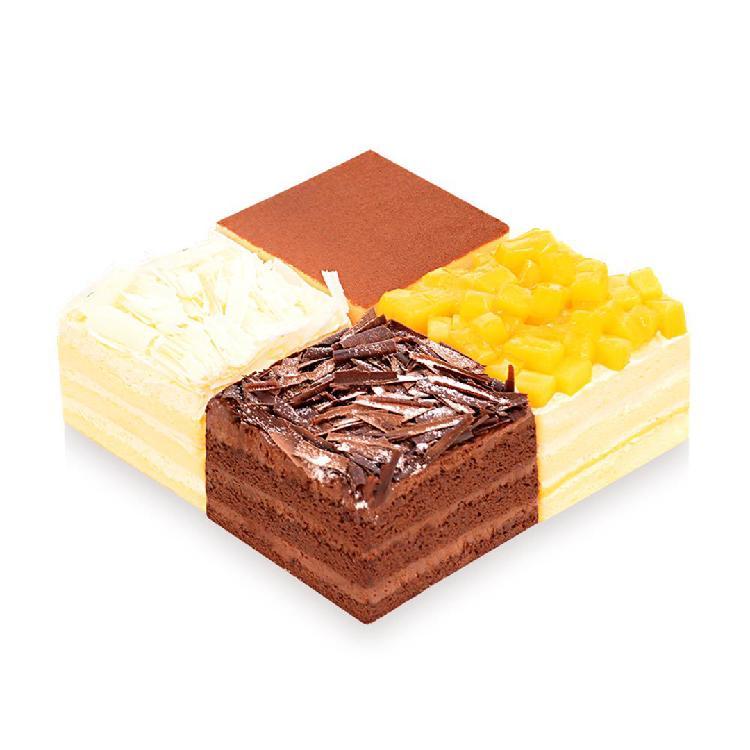 【4-5人份】INCAKE 缤纷四重奏蛋糕/1.5磅