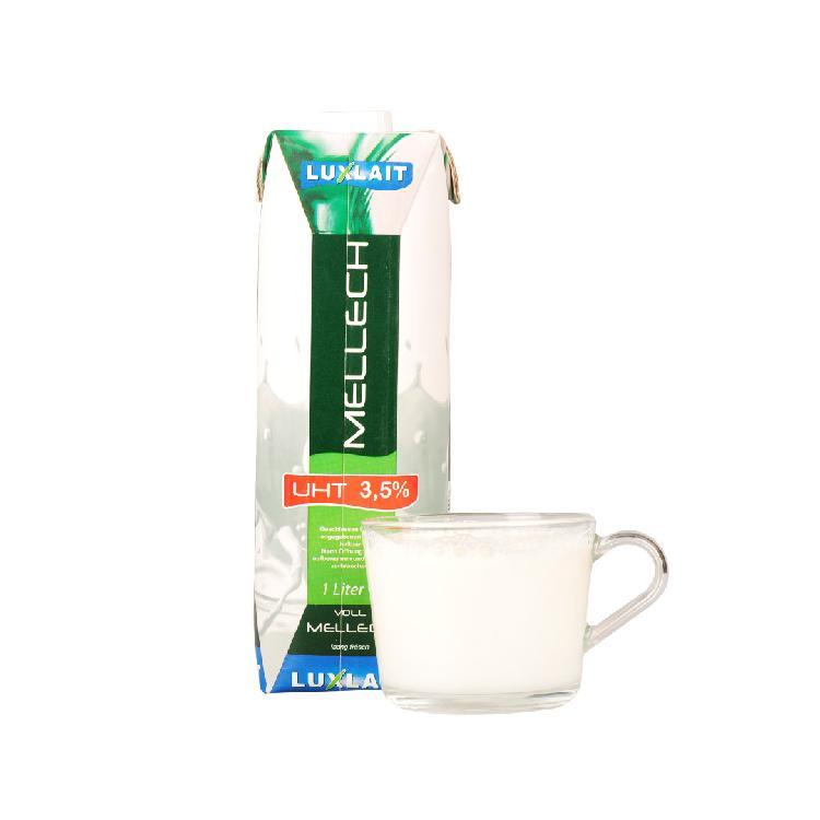 乐口事全脂牛奶 1L