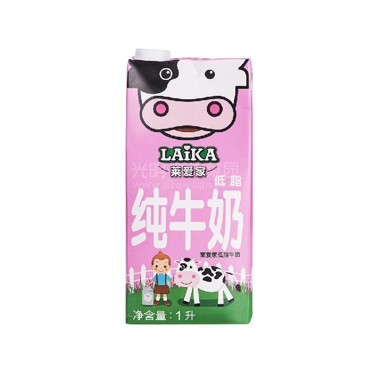 莱爱家 低脂牛奶 1L