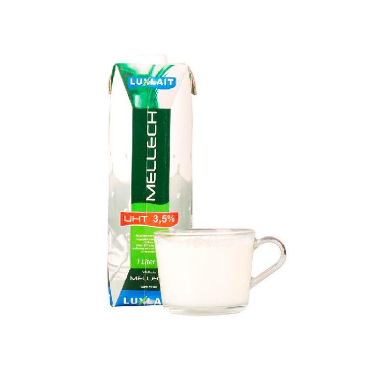 乐口事 卢森堡全脂牛奶 1L*3