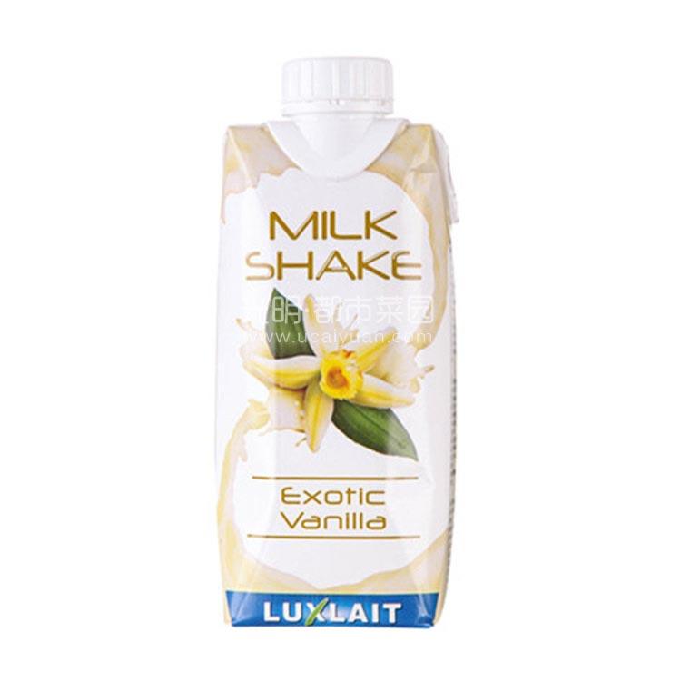 乐口事 卢森堡香草味牛奶 330ml