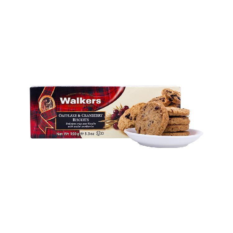 Walkers沃尔克斯燕麦蔓越莓饼干150g