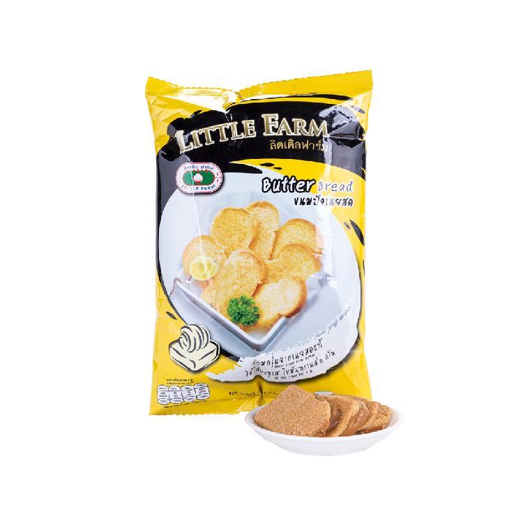 小农庄 黄油烤面包干 70g