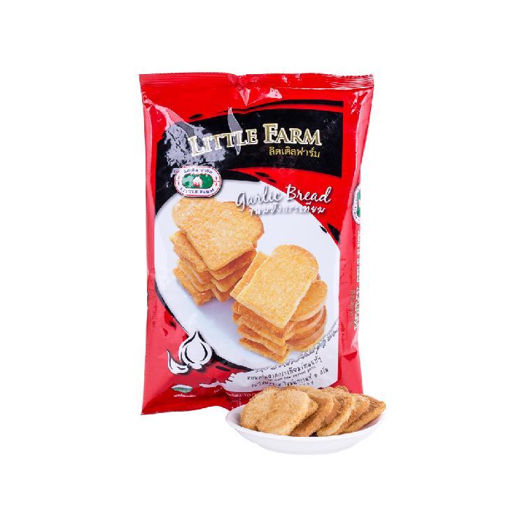 小农庄 蒜香味烤面包干 100g