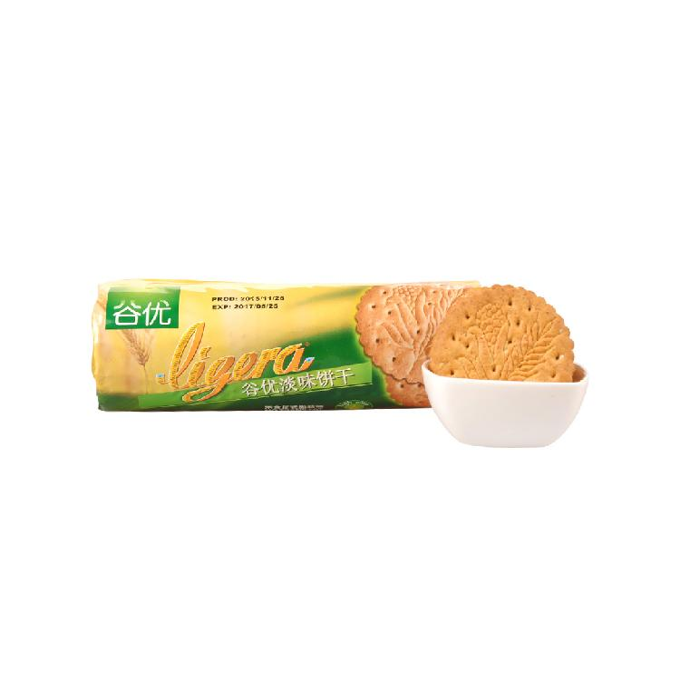 谷优淡味饼干200g