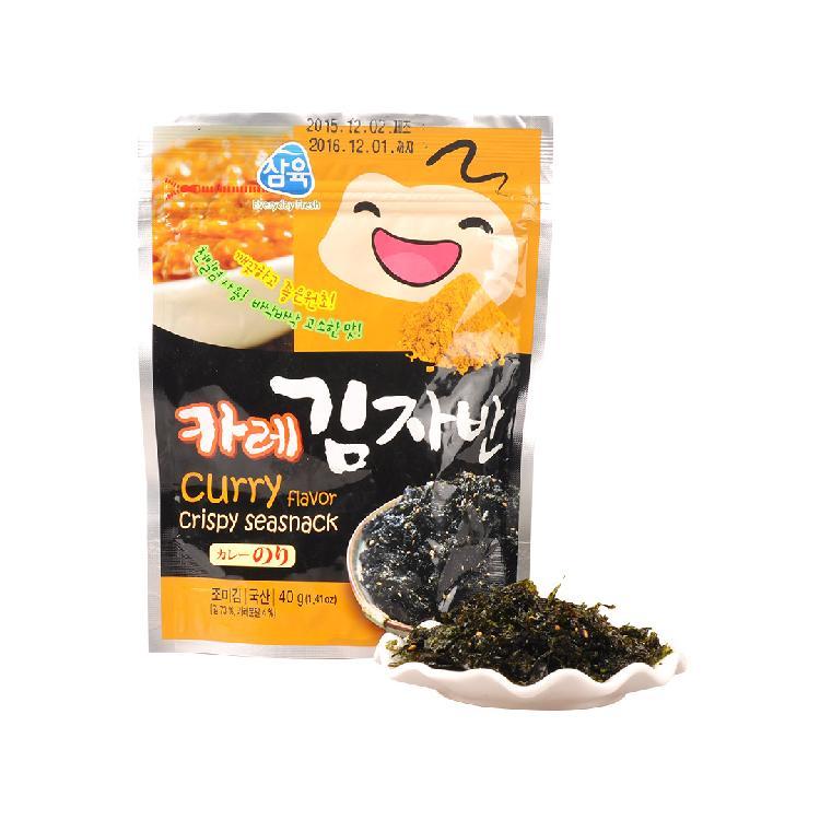 三育咖喱味香酥海苔40g