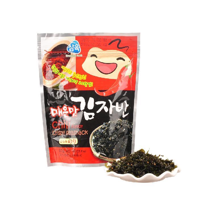 三育辣味香酥海苔40g