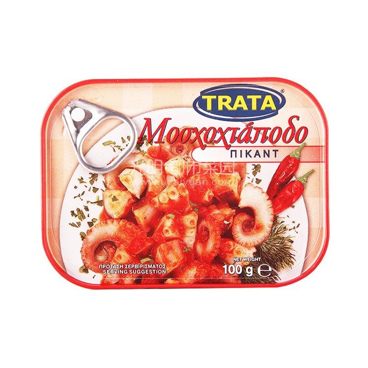 希腊原产 港湾 开胃章鱼(罐头)100g