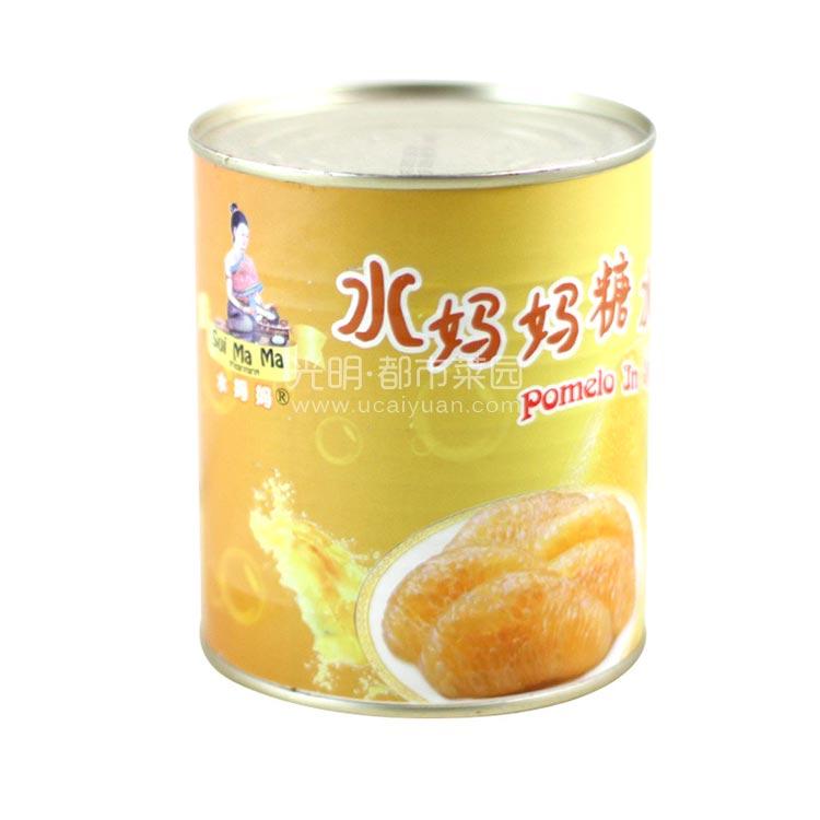 水妈妈 糖水金柚肉850g
