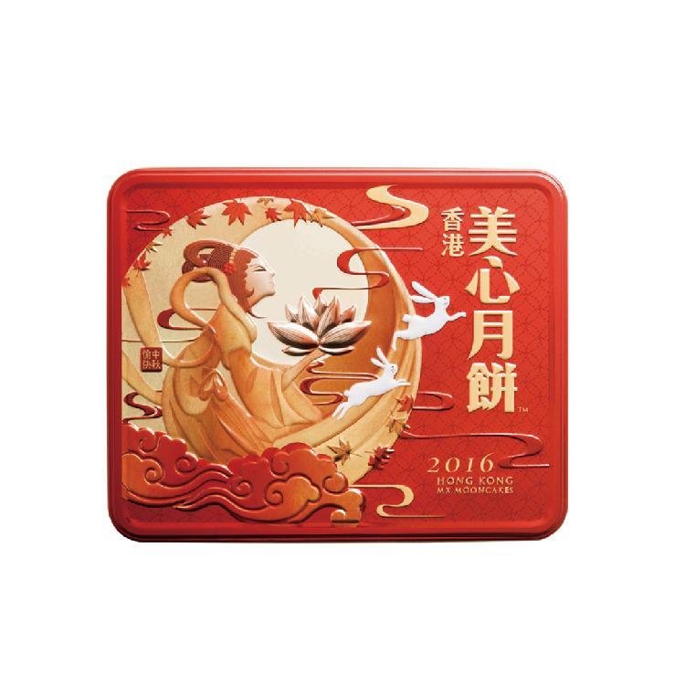 美心 双黄莲蓉月饼740g(185g*4)