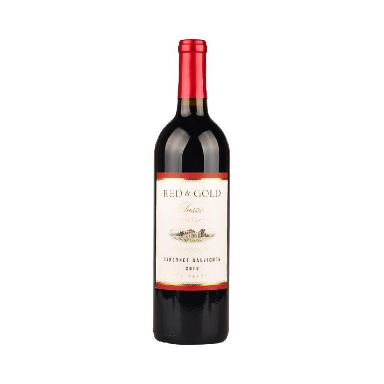 黄金加州红 赤霞珠干红葡萄酒(经典系列)750ml