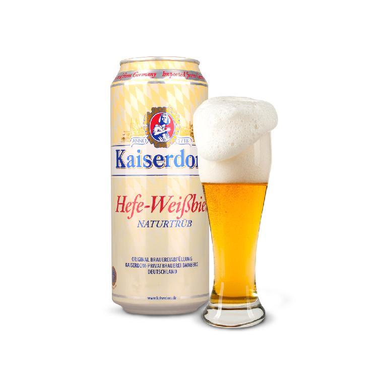 凯撒 白啤酒 500ml