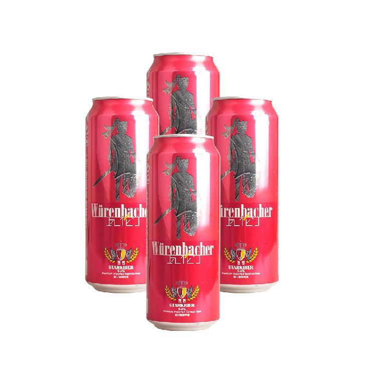瓦伦丁 烈性啤酒  500ml/ x 4
