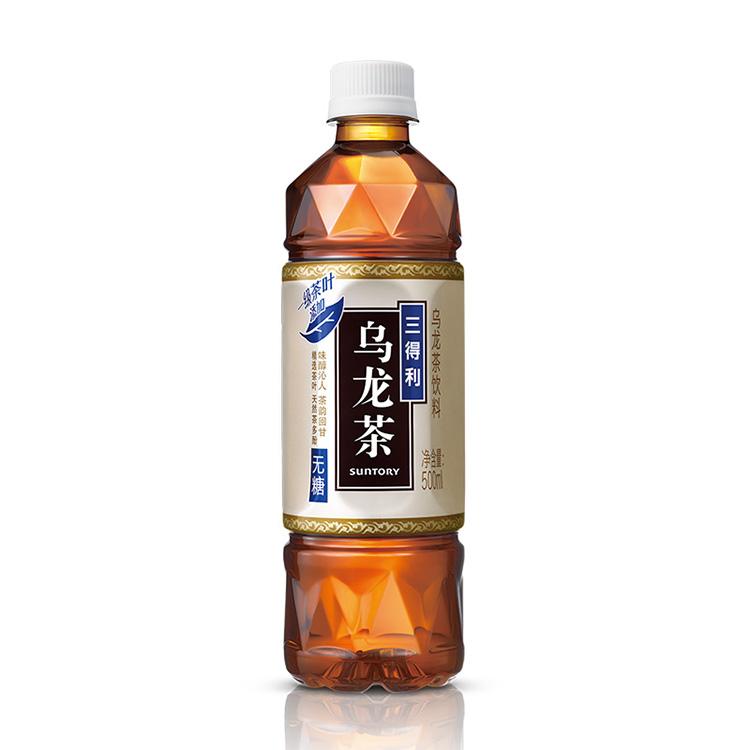 三得利  乌龙茶(无糖)500ml