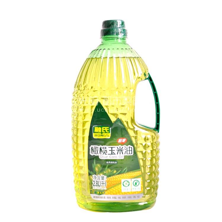 融氏 橄榄玉米油 2.8L 非转基因