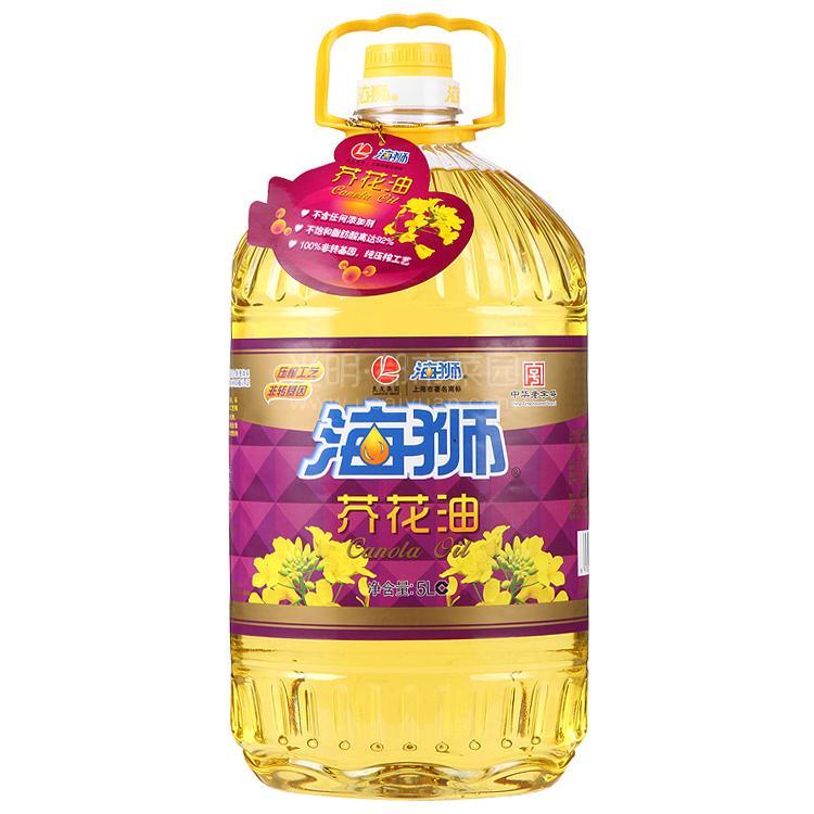 海狮 芥花油 5L