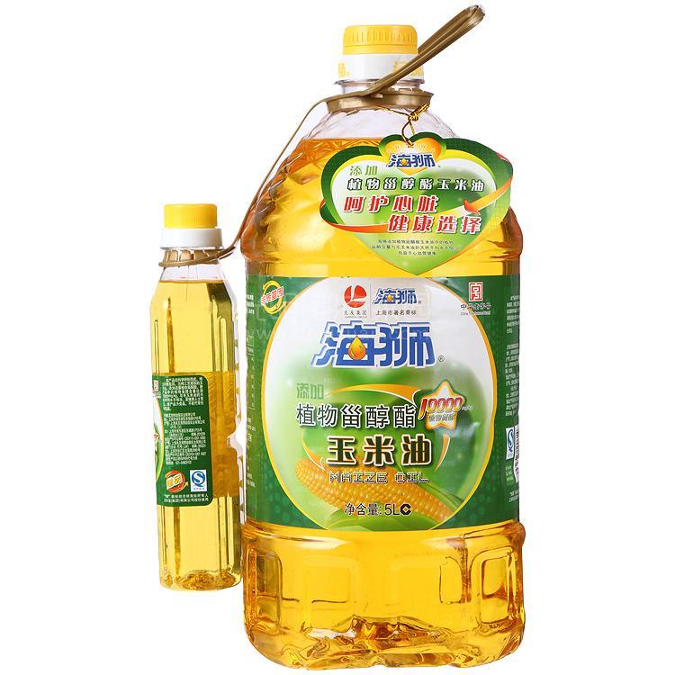 海狮 植物甾醇酯玉米油 5L+400ml