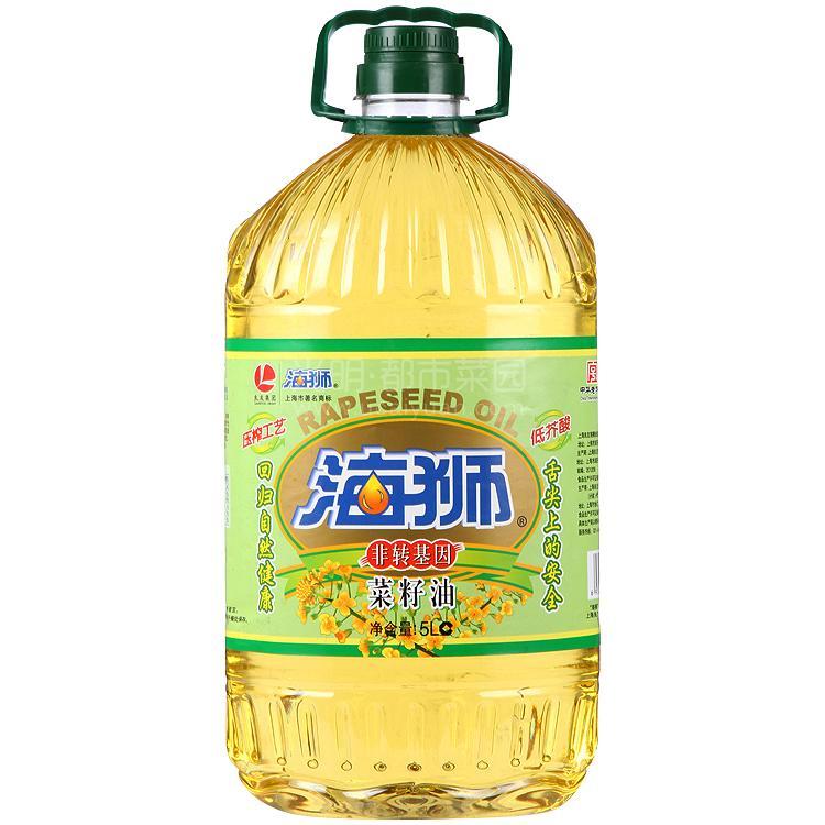 海狮一级菜籽油 5L