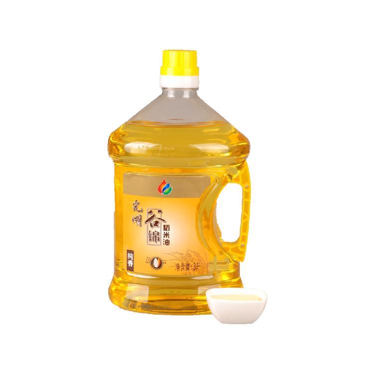 光明 非转基因 谷锦稻米油/米糠油3L